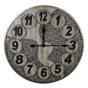 Entrada Oversized 23.6'' Metal Wall Clock