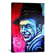 iCanvas Rock Demarco Sinatra Art 002 Canvas Print Wall Art; 18'' H x 12'' W x 0.75'' D