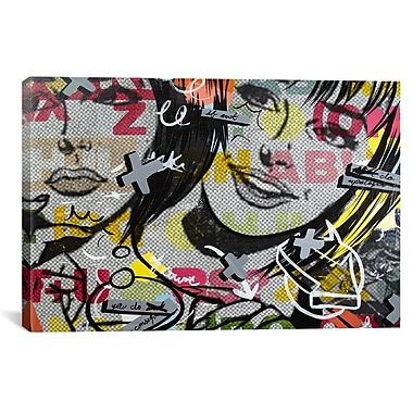 iCanvas Dan Monteavaro Apologies Graphic Art on Wrapped Canvas; 27'' H x 41'' W x 1.5'' D