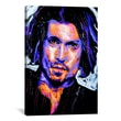 iCanvasArt Depp Art 001 Canvas Print Wall Art; 18'' H x 12'' W x 0.75'' D