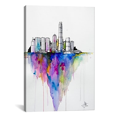 iCanvas ''Monolith II'' by Marc Allante Graphic Art on Wrapped Canvas; 41'' H x 27'' W