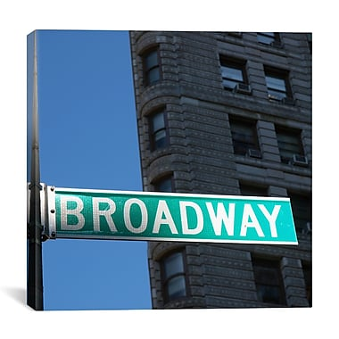 iCanvas New York City Broadway by Nina Papiorek Photographic Print on Wrapped Canvas