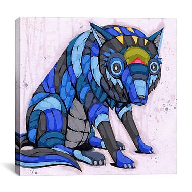 iCanvas Case of the Blues Ric Stultz Graphic Art on Wrapped Canvas; 18'' H x 18'' W x 0.75'' D