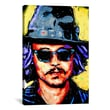 iCanvasArt Depp Art 002 Canvas Print Wall Art; 26'' H x 18'' W x 0.75'' D