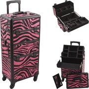 Hiker Professional Cosmetic Makeup Case; Pink