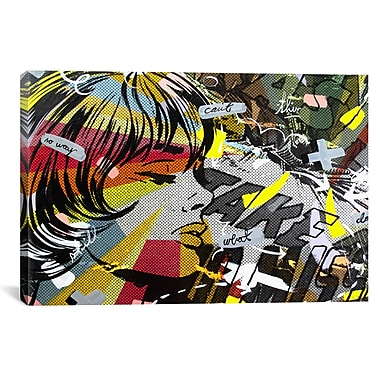 iCanvas Take Away by Dan Monteavaro Graphic Art on Wrapped Canvas; 41'' H x 61'' W x 1.5'' D