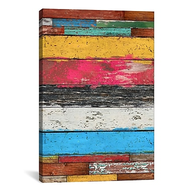 iCanvas Country Pop #2 by Maximilian San Graphic Art on Wrapped Canvas; 26'' H x 18'' W x 0.75'' D