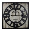 Entrada Kensington Station Metal Wall Clock
