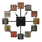 Entrada Oversized Paris 23.6'' Wall Clock