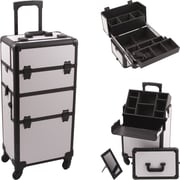 Hiker Professional Cosmetic Makeup Case; White