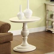 Riverside Furniture Placid Cove End Table; White