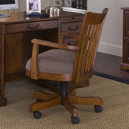 Riverside Furniture Cantata Mid-Back Desk Chair with Arm