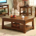 Riverside Furniture Craftsman Home Coffee Table with Lift Top