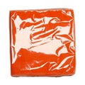 JAM Paper® Medium Napkins, 6.5in. x 6.5in. Orange, 50/Pack