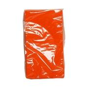 JAM Paper® Rectangular Party Napkins Guest Towels, 8 x 4.5, Orange, 16pack (8255720735)