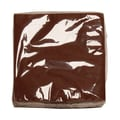 JAM Paper® Small Beverage Napkins, 5in. x 5in. Chocolate Brown, 50/Pack