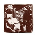 JAM Paper® Medium Napkins, 6.5in. x 6.5in. Chocolate Brown, 50/Pack
