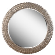 Kenroy Home 35 x 35  Bracelet Wall Mirror