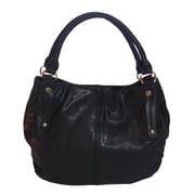 Zallzo™ 12 1/2 x 17 x 5 Tyra Large Slouch Tote Bag, Black