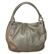 Zallzo™ 12 1/2 x 17 x 5 Tyra Large Slouch Tote Bag, Light Gold