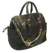 Michael Michelle Graham Deluxe Top Handle Bag, Black