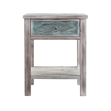 SEI Wood End Table, Multicolor, Each (CK5962)