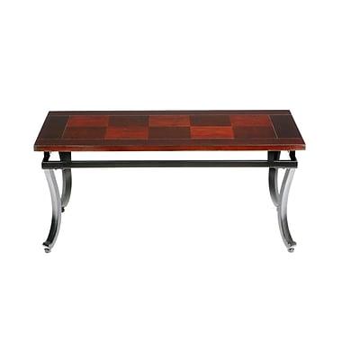 SEI Modesto Wood Cocktail Table, Espresso, Each (CK6420R)