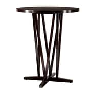 SEI Devon 43 Rubberwood Bar Table, Dark Espresso
