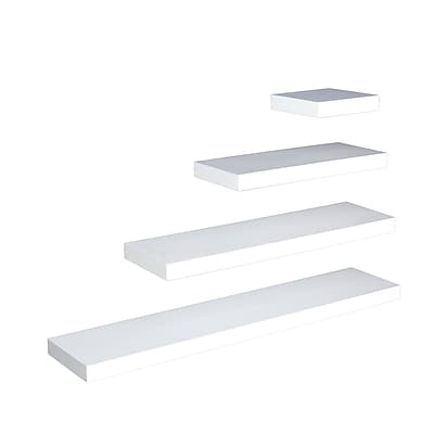SEI Chicago 36 MDF Floating Shelf, White