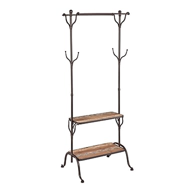 SEI Entryway Metal Shelf/Hall Tree