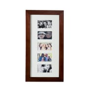 SEI Photo Display Wall-Mount Jewelry Armoire, Cherry