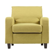 SEI Kellyton Polyester Arm Chair,Green