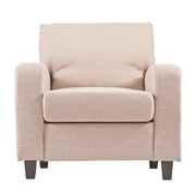 SEI Kellyton Polyester Arm Chair, Oyster