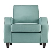 SEI Parkdale Polyester Arm Chair, Turquoise