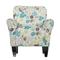 SEI Madigan Polyester Floral Accent Chair