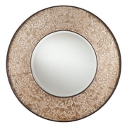 SEI 31 x 1.75 Clarissa Wall-Mount Mirror, Antique Silver