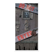 "Beistle 30"" x 5' Spooky Halloween Door Cover, 3/Pack"