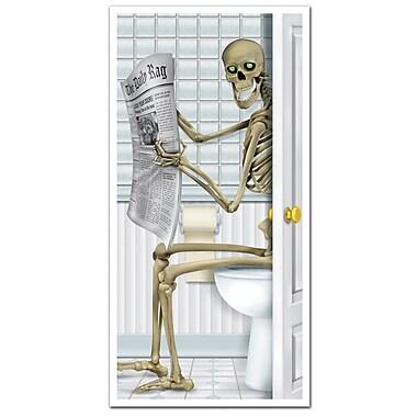 Skeleton Restroom Door Cover, 30