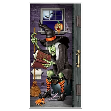 Witch Restroom Door Cover, 30