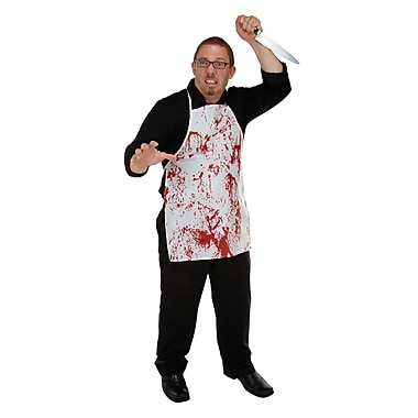 Halloween Horror Fabric Novelty Apron, One size fits most