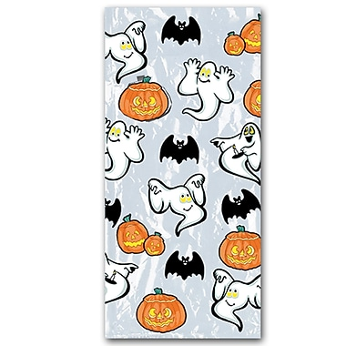 Pumpkin and Ghost Cello Bags, 4