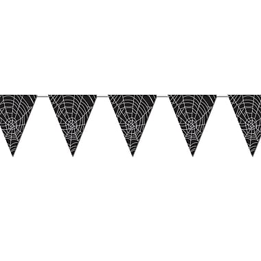 Spider Web Pennant Banner, 10