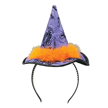 Witch Hat Headband, One size fits most, 2/pack