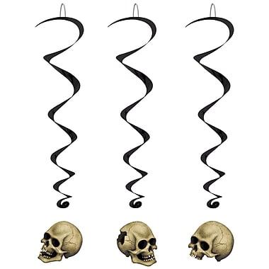 Tourbillons crâne, 3 pi 4 po, paq./15