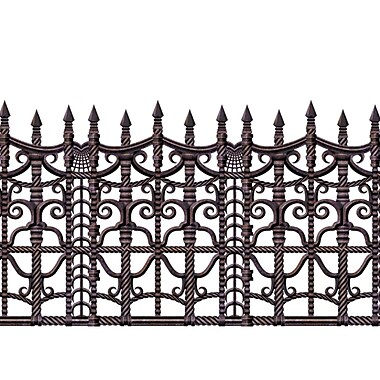 Creepy Fence Border, 24