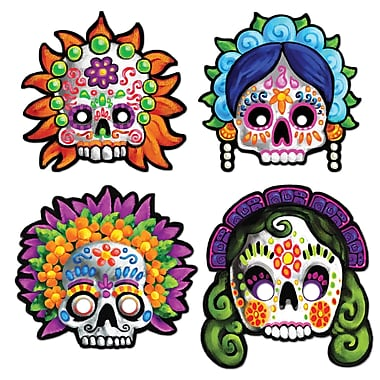Day Of The Dead Masks, 12