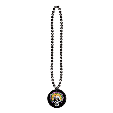 Day Of The Dead Medallion Bead, 33