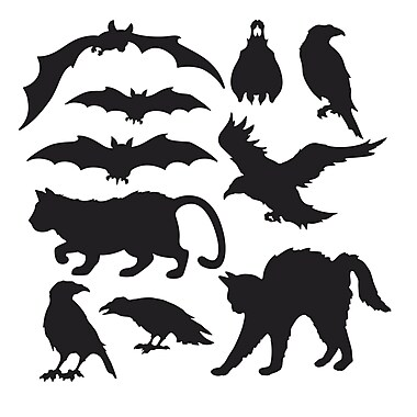 Halloween Silhouettes, 5