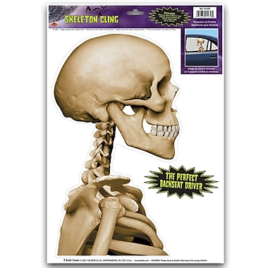 Skeleton Backseat Driver Car Cling, 12