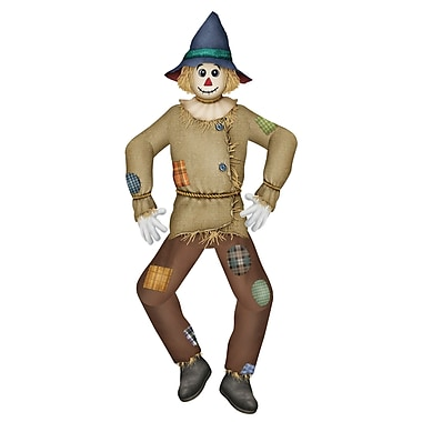 Jointed Traditional Scarecrow, 5', 2/pack